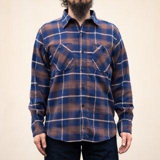 Work Shirt Flannel Brown Tartan