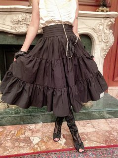 『The Tuxedo Tough 〜タキシード2wayスカート・タフ』 Medium flare skirt