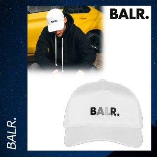 BALR. 【ボーラー】 クラシック オックスフォード キャップ 帽子 ホワイト