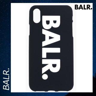 BALR. 【ボーラー】 iPhone XR シリコン ケース スマホケース ビッグロゴ ブラック