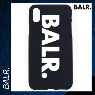 BALR. 【ボーラー】 iPhone XS MAX シリコン スマホケース ビッグブランドロゴ