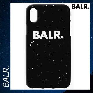 BALR. 【ボーラー】 iPhone X シリコン スプラッタ スマホケース カバー