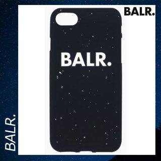 BALR. 【ボーラー】 iPhone 7/8 シリコン スプラッタ スマホケース カバー