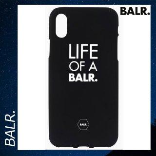 BALR. 【ボーラー】 LOAB iPhone X シリコン スマホケース カバー