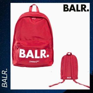 BALR. 【ボーラー】 Uシリーズ バックパック リュックサック バッグ レッド