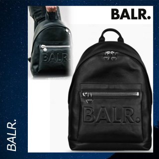 BALR. 【ボーラー】 レザー グランド バックパック リュックサック バッグ