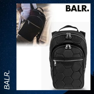 BALR. 【ボーラー】 ブラック バックパック リュックサック バッグ