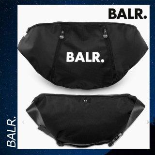 BALR. 【ボーラー】 Uシリーズ オーバーサイズ ウエスト ショルダー バッグ