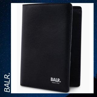 BALR. 【ボーラー】 レザー パスポート ホルダー ケース カバー