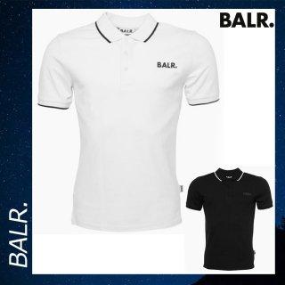 BALR. 【ボーラー】 ブランド メタル ロゴ ポロシャツ トップス