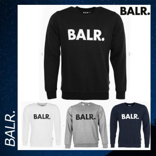BALR. 【ボーラー】ブランド ロゴ クルーネック スウェット トレーナー<img class='new_mark_img2' src='https://img.shop-pro.jp/img/new/icons29.gif' style='border:none;display:inline;margin:0px;padding:0px;width:auto;' />