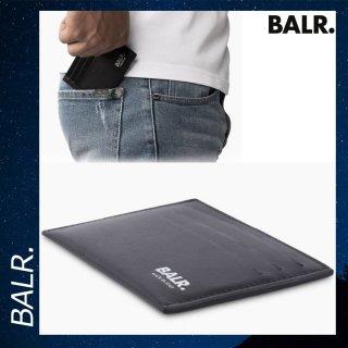 BALR. 【ボーラー】 レザー スリム コンパクト カードケース ホルダー