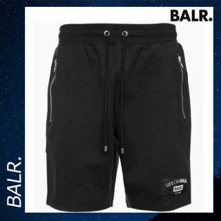 BALR. 【ボーラー】 ショート パンツ スウェット ショーツ ブラック 黒