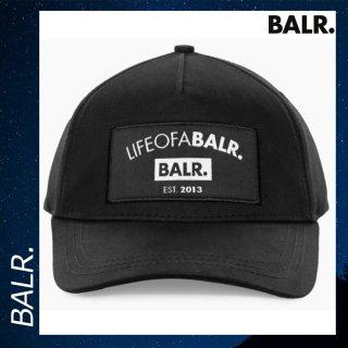 BALR. 【ボーラー】 LIFEOFABALR クラブクラシック キャップ ブラック 帽子 ロゴ 黒