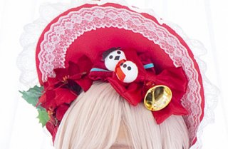 【ERIMO】×【Par la magie】クリスマスちゃん ヘアアクセサリー
