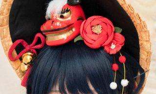 【ERIMO】×【Par la magie】お正月ちゃん ヘアアクセサリー