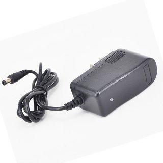 12.6V バッテリー充電器 バッテリーチャージャー 充電式投光器 出力1A AC充電器 AC100V〜240Vに対応 PSE認証済み ACアダプター 代替電源