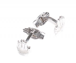 TATEOSSIAN『タテオシアン』THOMPSON『トンプソン』カフリンクス 正規取扱店 CL2662-Silver/Hand