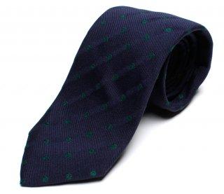 DRAKE'S ドレイクス 英国製ネクタイ 正規取扱店 DRAKE'S-MJR-19666-002-グリーンドット柄