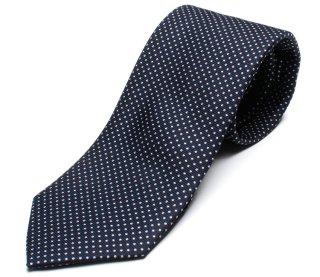DRAKE'S ドレイクス 英国製ネクタイ 正規取扱店 DRAKE'S-E5080N-06871-1-50ozネイビードット