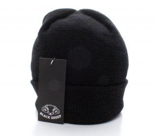 Black Sheep『ブラック・シープ』正規取扱店 ニットキャップ WT05-Knit Cap-Jet Black