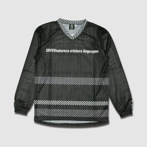 SL black mesh shirt