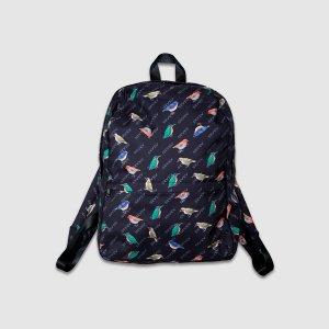 Bird pattern Backpack