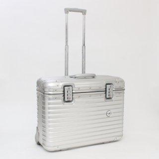 020715★激レア!正規品★リモワ×ルフトハンザ★パイロット 機内持込可スーツケース 921.90 2輪 29L★