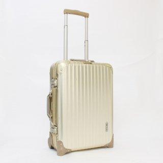 050037★激レア 正規品★リモワRIMOWA★トパーズゴールド 機内持込可スーツケース 915.52 2輪 32L★