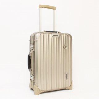 900059★激レア 正規品★リモワ×ルフトハンザ★トパーズチタニウム 機内持込可スーツケース 942.78 2輪 32L★