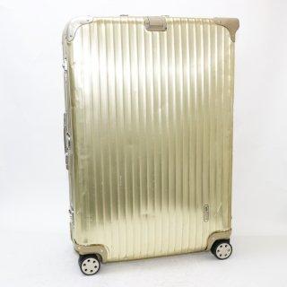 900345★激レア!正規品★リモワRIMOWA★トパーズゴールド 海外旅行用スーツケース 917.77 4輪 98L★
