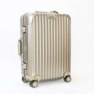014613★国内正規品★リモワRIMOWA★トパーズチタニウム 機内持込可スーツケース 920.52.03.4 4輪 32L★