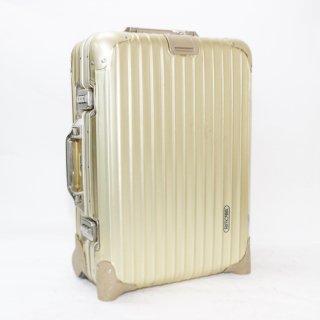 リモワRIMOWA★トパーズゴールド 機内持込可スーツケース 915.52 2輪 32L★900247★激レア 正規品★
