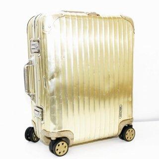 リモワ RIMOWA★トパーズゴールド 国内外旅行用スーツケース 917.56 4輪 45L★070091★激レア!正規品★