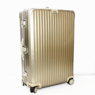 リモワRIMOWA★トパーズチタニウム 国内外旅行用スーツケース 945.70 4輪 82L★202277★正規品★