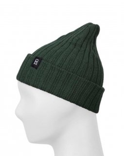 Forest Green Ribbed Toque