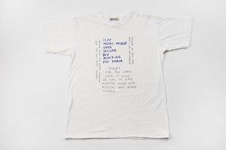 WHITE LINE / MARK GONZALES TEE