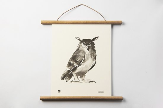TEEMU JARVI / SMALL POSTER      Eagle Owl