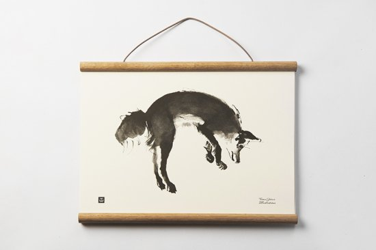 TEEMU JARVI / SMALL POSTER      Leaping Fox
