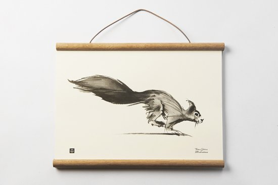 TEEMU JARVI / SMALL POSTER      Squirrel