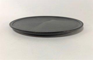 3rd  ceramics/  黒泥皿 6寸