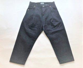 NEGATIVE DENIM / Single Pleated Pants