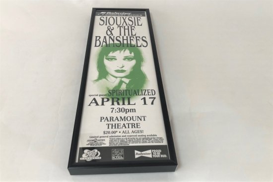 VINTAGE POSTER / SIOUXSIE & THE BANSHEEDS