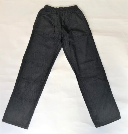 HOLDFAT / CORDUROY  CHEFS  TROUSERS