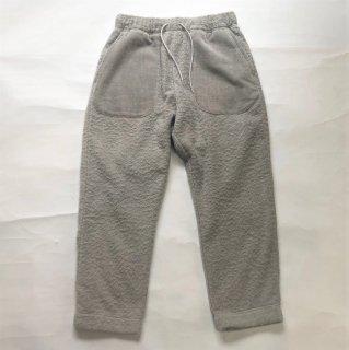 THING FABRICS / Ankle Pants <Brushed Pile>