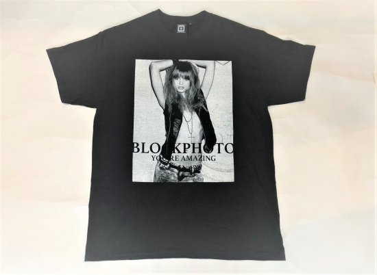 BLOCKPHOTO /   S/S  PRINT TEE