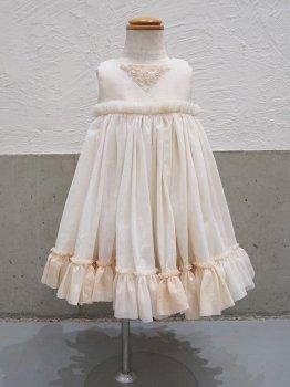 フリルの風のドレスns (80~90size)