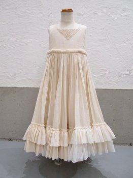 フリルの風のドレスns (110~120size)