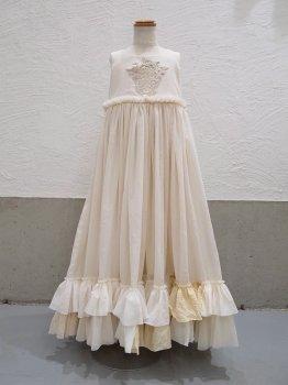 フリルの風のドレスns (130~140size)