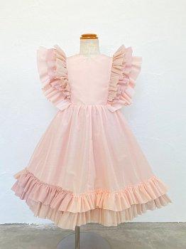 Pink frill dress (95~100size)